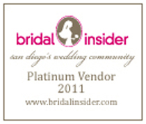 Bridal Insider Platinum Vendor 2010
