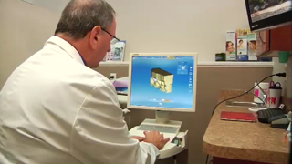 Because Dr. Victor Siegel uses CEREC® technology to scan your teeth, he can design and fabricate your porcelain dental restoration right in his office, in just a single appointment.