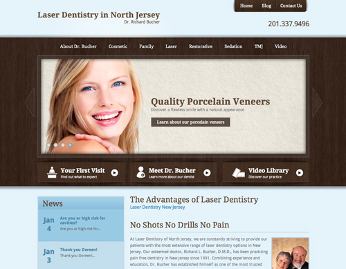 Pain Free Laser Dentistry in New Jersey - Dr. Richard Bucher