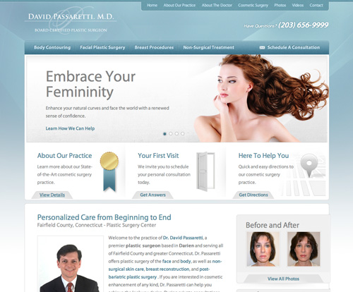 Plastic Surgery Fairfield, Connecticut - Dr. David Passaretti