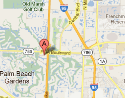 PGA Center for Advanced Dentistry map