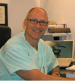 Dr. Robert Wilkoff of Northeast Philadelphia in his dentistry office.