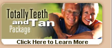 teeth whitening - day spa services & packages
