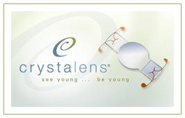 Radio crystalens accommodating