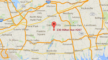 LASIK Long Island Hempstead Map