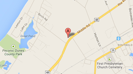 LASIK Long Island Southold Map