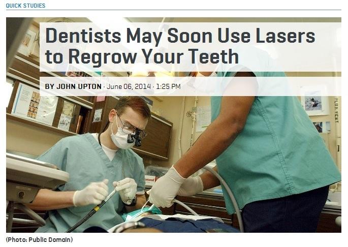 Laser to Regrow