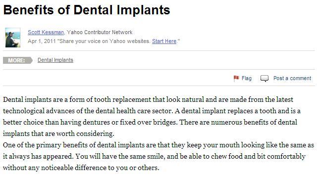 Dental Implants in Philadelphia can Help Restore Your Teeth's Function