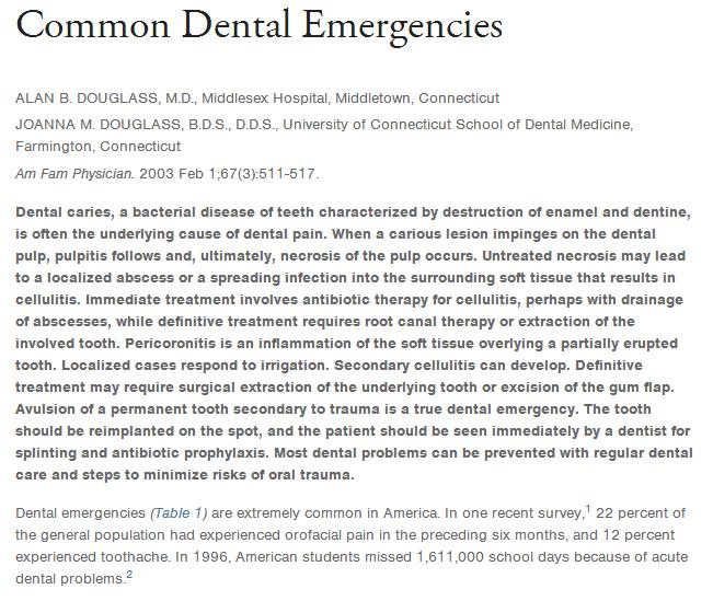 Dental Pain: An Emergency Dentist in Philadelphia Can Provide Relief