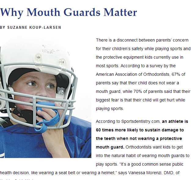 why mouth guards matter